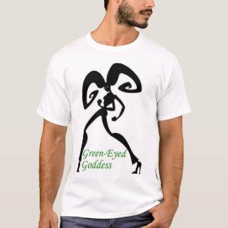 Green-eyed goddess T-Shirt