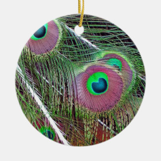 Green Eyed Majesty Christmas Ornament
