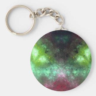 Green-Eyed Monster Basic Round Button Key Ring