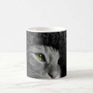 Green Eyed Monster Basic White Mug
