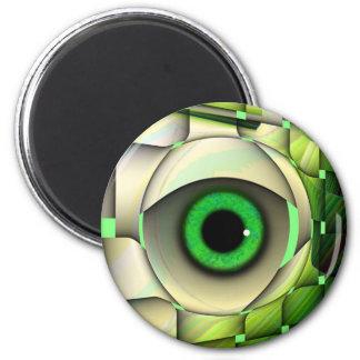 Green Eyed Monster Magnet