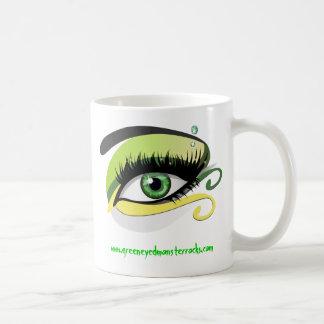 Green Eyed Monster Mug