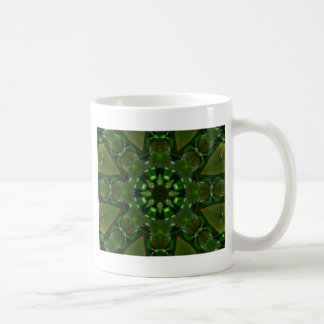 Green_Eyed_Monster resized.PNG Basic White Mug