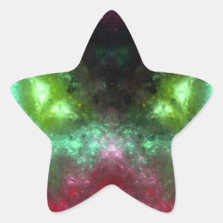 Green-Eyed Monster Star Sticker