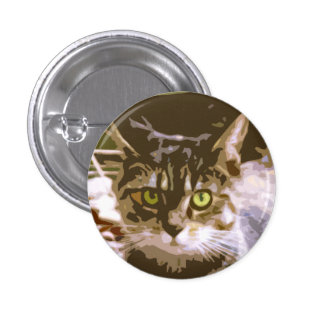 Green-eyed Stray Button