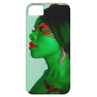 Green Face Zambia Memorabilia iPhone 5 Cover