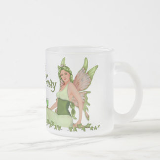 Green Fairy - Absinthe Frosted Glass Mug