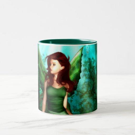 Green Fairy Glen Coffee Mug