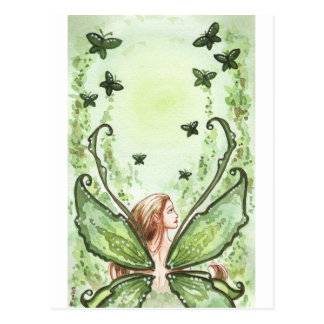 Green Fairy Postcard
