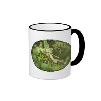 Green Fairy Splashy Collage II Coffee Mug