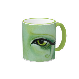 Green fairy Swils Eye Mug