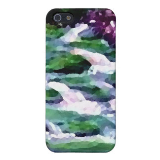 """Green Fairy Waterfalls"" CricketDiane Art Cases For iPhone 5"