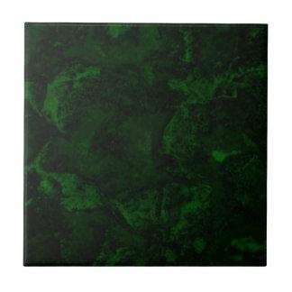 Green fake malachite tile