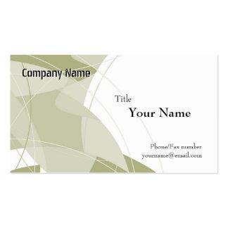 Green Fantasy Business Card Templates