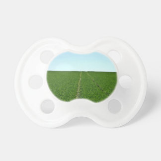 Green Farm Image BooginHead Pacifier