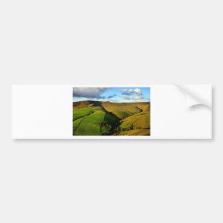 Green Farm Land - Beautiful Landscape Bumper Stickers