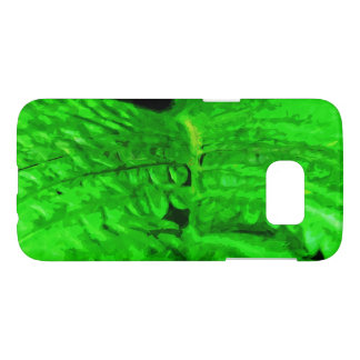 Green Fern Abstract Impressionism