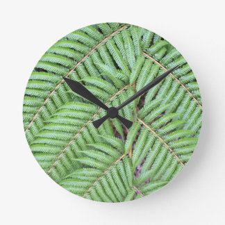 Green fern New Zealand Clocks
