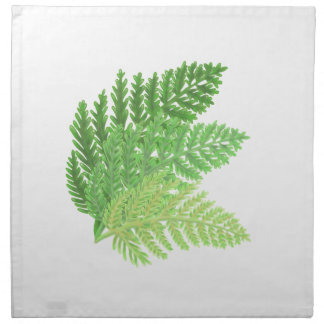 Green Ferns Napkin