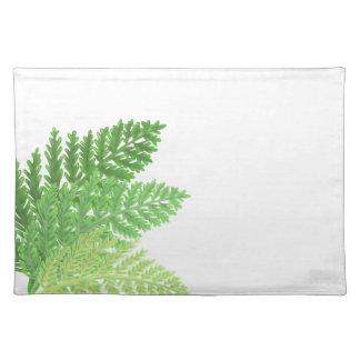Green Ferns Placemat