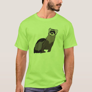 Green Ferret T-Shirt