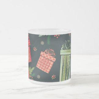 Green festive Christmas Mug
