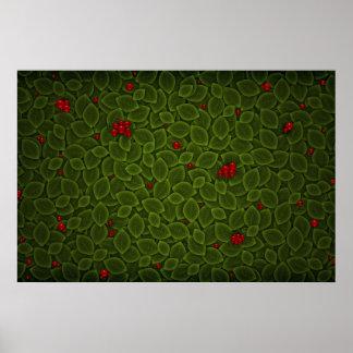 Green Field 3 Print