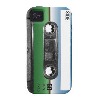 Green Field Horizon Cassette Vibe iPhone 4 Case