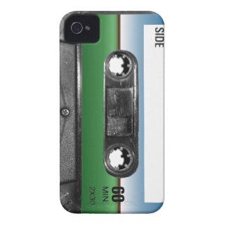 Green Field Horizon Cassette iPhone 4 Cases