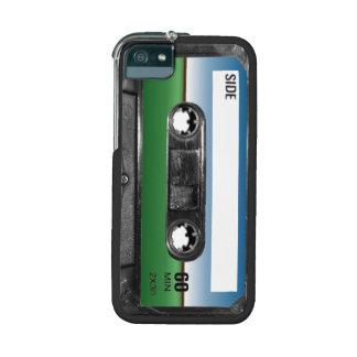 Green Field Horizon Cassette iPhone 5 Cases