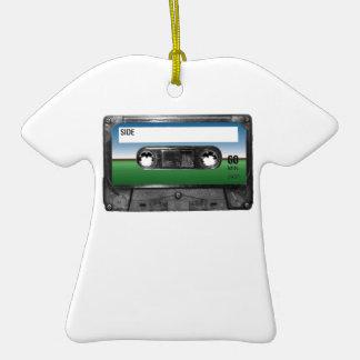Green Field Horizon Cassette Ornaments