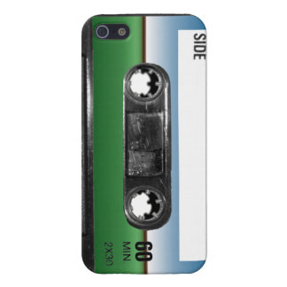 Green Field Horizon Cassette Covers For iPhone 5