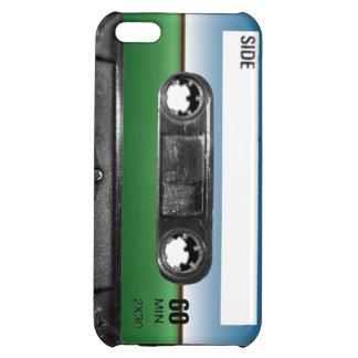 Green Field Horizon Cassette iPhone 5C Covers