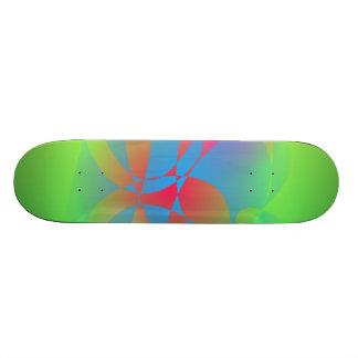 Green Field Skate Deck