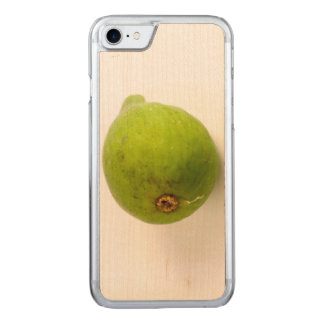 Green Fig Carved iPhone 7 Case