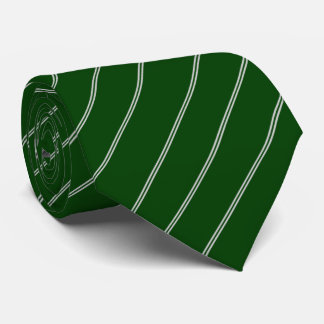 Green Fighter Jets Striped Tie
