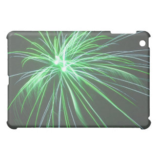 Green Fireworks iPad Case