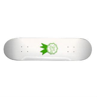 Green First Place Ribbon Skate Decks