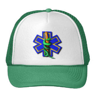 Green First Responder Cap