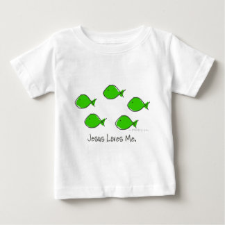 Green Fishes Baby T-Shirt