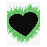 Green Flame Heart Full Colour Flyer