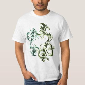 Green Flames Tee Shirt