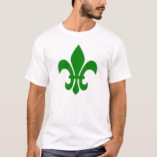 Green Fleur de Lis T-Shirt