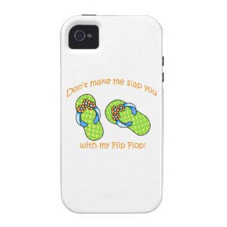 Green Flip Flops iPhone 4 Cases