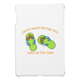 Green Flip Flops iPad Mini Cases