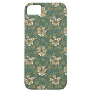 Green Floral iPhone 5 Cases