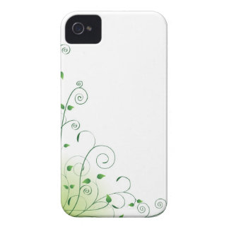 green floral iPhone 4 covers