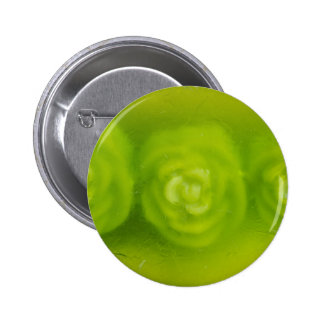 green floral decoration button