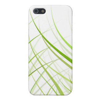 Green Floral i iPhone 5 Cover
