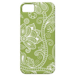 green floral iPhone 5 case